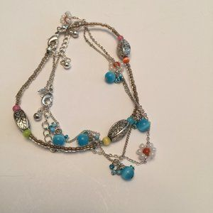 NEW Avon 2007 3 Beaded Anklets Ankle Bracelets